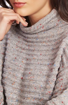 Court And Rowe Speckled Ottoman Turtleneck Sweater