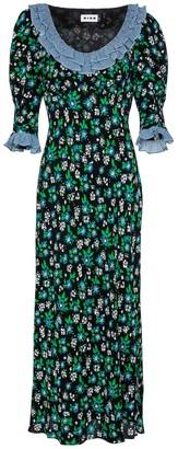 Rixo Juliette floral maxi dress