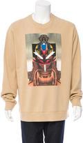 Givenchy Pullover Warrior Print Sweatshirt