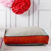 Graham and Green Orange and Blue Floor Cushion
