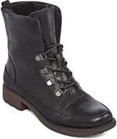Yuu Sung Faux-Fur Lace-Up Booties