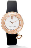 Van Cleef & Arpels Pink Gold Charms Watch with Diamonds, 32mm