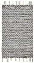 """Thumbnail for your product : Seventh Studio Knitted Chevron 27""""x 45"""" Accent Rug Bedding"""