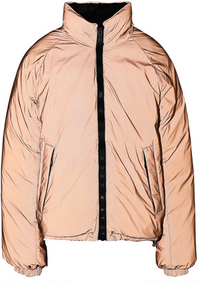 Ienki Ienki Reversible Iridescent Shell Down Jacket
