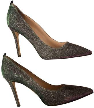 Sarah Jessica Parker Multicolour Leather Heels