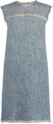Escada Sport Damika Sleeveless Tweed Shift Dress