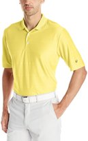 Jack Nicklaus Men's Golf Performance Large Scale Ottoman Solid Short Sleeve Polo Shirt
