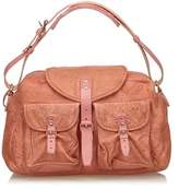 Balenciaga Pre-owned: Leather Shoulder Bag.
