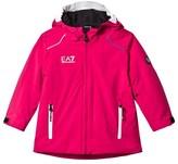 Armani Junior Pink Klingler Ski Jacket