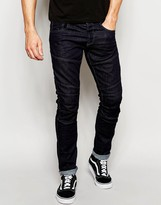 Jack and Jones Rinse Wash Jeans in Slim Fit with Panels