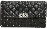 Valentino Rockstud Spike - Nappa Crackle Shoulder Bag