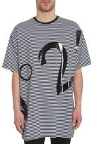 N°21 Oversize Striped T-shirt