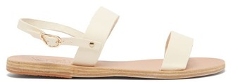 Ancient Greek Sandals Clio Leather Sandals - Womens - White