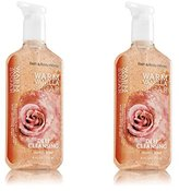 Bath and Body Works Antibacterial Deep Cleansing Hand Soap 8 Oz, 2 Pack (Warm Vanilla Sugar)