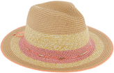 Accessorize Giselle Contrast Trim Fedora Hat