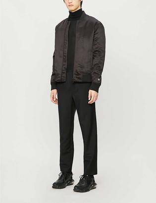 Emporio Armani Satin bomber jacket