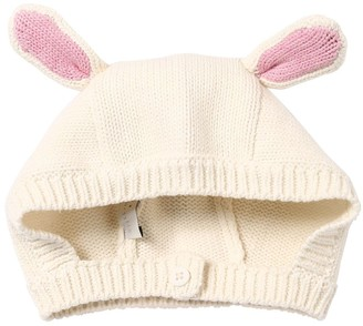 Stella McCartney Bunnies Cotton Blend Knit Hat
