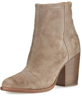 Rag & Bone Ashby Suede Ankle Boot, Stone