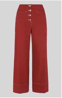 Whistles Heidi Button Front Trouser