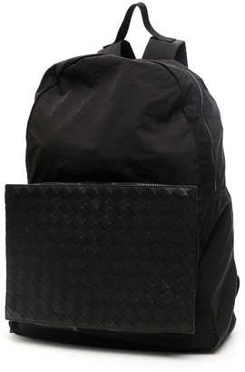 Bottega Veneta Woven Front Backpack