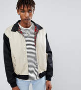 Reclaimed Vintage Inspired Cut and Sew Harrington Jacket
