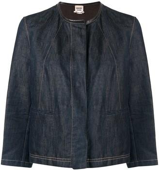 Hermes Pre-Owned Collarless Denim Jacket