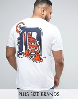 Majestic PLUS Detroit Tigers Longline T-Shirt
