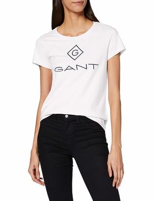 Gant Women's D1 Lock Up Ss T-Shirt