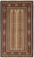 Bashian Rugs Shiraz Hand-Knotted Wool Tribal Rug