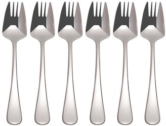 Maxwell & Williams Cosmopolitan 18/10 Stainless Steel 6 Piece Buffet Fork Set