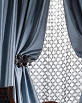 "Vince Radiance Silk Curtain, 120""L"