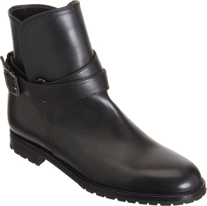 Manolo Blahnik Sulgamaba Ankle Boots-Black