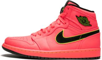 Jordan Wmns Air 1 Retro Prem 'Hot Punch' Shoes - Size 8W