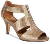 Style&Co. Style & Co Halinaa Zip-Up Dress Sandals, Only at Macy's