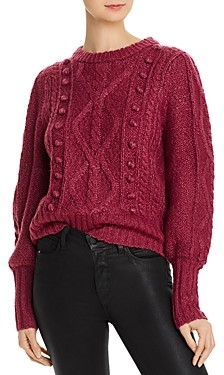 Joie Bia Cable-Knit Sweater