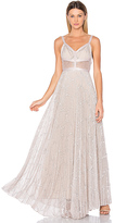 Alexis Isabella Gown in Blush. - size L (also in M)