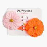 J.Crew Girls' flower snap clips