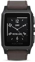 Vector Meridian Leather Smart Watch, 37mm