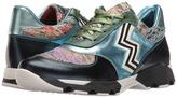 Missoni Metallic Print Sneaker Women's Shoes