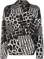 Zero Maria Cornejo all-over print blouse