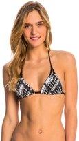 Hurley Tie Dye Maze Reversible Triangle Bikini Top 8141116