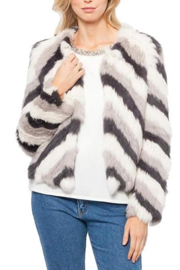 SAM. love token Fur Jacket