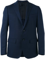 Caruso pocket front suit - men - Cupro/Wool/Bemberg - 46