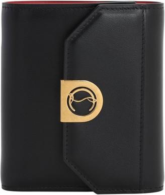Christian Louboutin Elisa Leather Compact Wallet