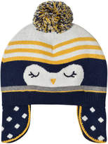 Absorba Navy Penguin Knit Bobble Hat