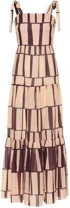 Johanna Ortiz Waterfront printed cotton maxi dress