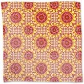 uneekee Mandala Flower Napkin Linen Woven Polyester Custom Printed
