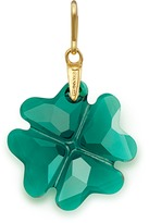 Alex and Ani Emerald Four Leaf Clover Necklace Charm