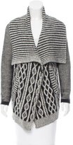Yigal Azrouel Cable-Knit Wool Cardigan