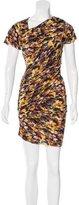 Etoile Isabel Marant Abstract Print Sheath Dress
